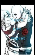 Scars and Regret (G! Sans X Frisk) by FlowerfellFrisk2