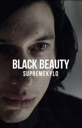 Black Beauty   Kylo Ren x Reader by supremekylo