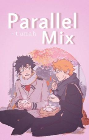 Parallel Mix 【 Haikyuu!! x BNHA 】 by -tunah