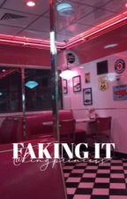 faking it ; jack avery au by kingprincess-
