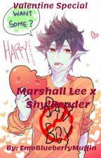 Marshall Lee x Shy!Reader   Valentine Special by EmoBlueberryMuffin