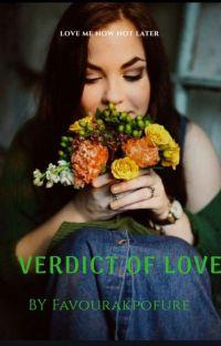 VERDICT OF LOVE cover