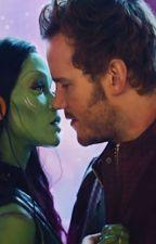 Starmora: Peter and Gamora by LawlietSimp
