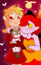Burning Love (Hekapoo X OC Taynisha) by SpiritedFlames