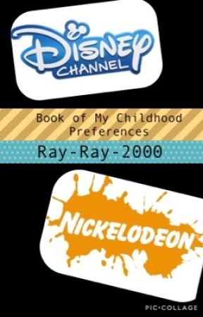 Book of my Childhood Shows Preferences by ray-ray-2000