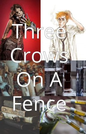 Three Crows On A Fence - Jonathan Crane x OC by Poppy_Crane