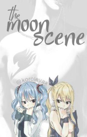 the moon scene ✵ graylu + gruvia ✓ by korolevax
