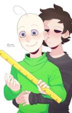 Courage||Baldi x Principal Of The Thing by depressiontimecx