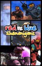 The RvB Shenanigans by xSpartanLeox