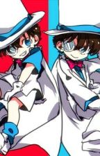 Shrunk?! Detective Conan and Magic Kaito 1412 by lxnaticaj