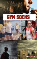 Gym Socks by Thewriterspilledink