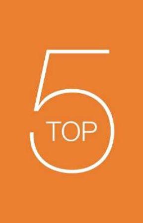 Top 5 Countdown (The Final Season) by xanderwrites