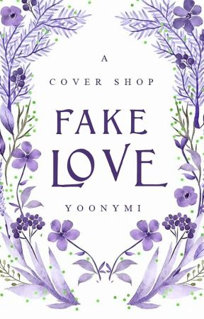 Fake love - a cover shop by yoonymi
