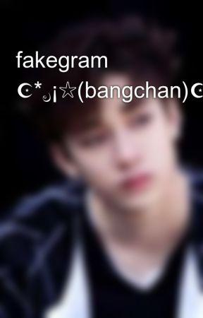 fakegram ☪*ೃ¡☆(bangchan)☪*ೃ¡☆  by c-bang