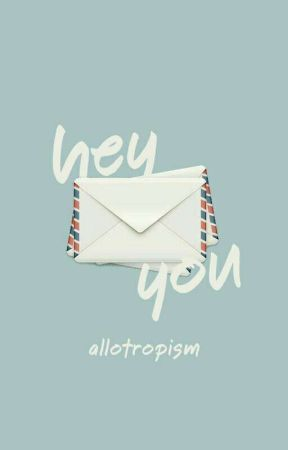 hey you! by allotropism
