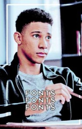 Fonts by liamdunbears