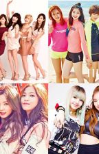KPOP girl group x reader by changingTHEname
