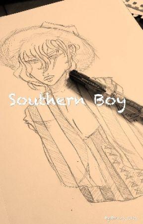 Southern Boy ( Trevor x Fnaf characters) by Briana_Cita