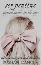serpentine ➢ sigurd snake in the eye by eivor_teiwaz