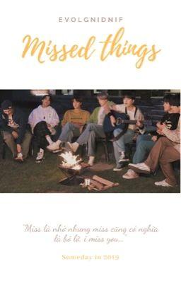 Missed things [ BTS ]