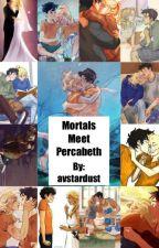 Mortals Meet Percabeth by avstardust