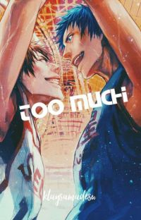 Too Much (Aomine x Reader x Kagami)  cover