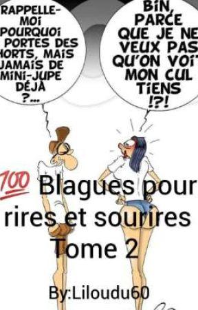 💯 Blagues pour rires ou sourires (tome 2) by Liloudu60