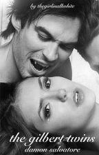 The Gilbert twins - Damon Salvatore by thegirlinallwhite