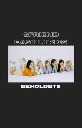 Gfriend Easy Lyrics Apple Gfriend Wattpad