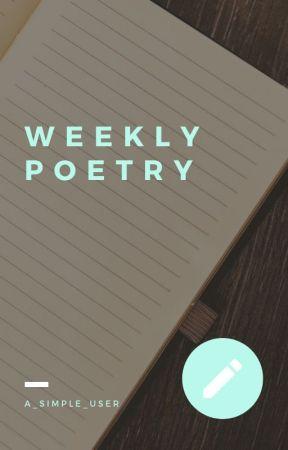 Weekly Poetry by VividArtscapes