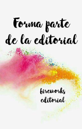 Forma parte de la editorial by Fireworkseditorial