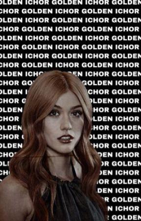 GOLDEN ICHOR || Theo Raeken by -Banana-Bread