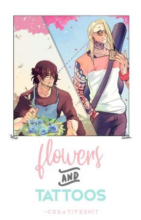 flowers and tattoos ☆ hizashiaizawa ; bnha by -crxativxshit