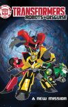 A New Mission (Transformers: Robots in Disguise Fanfic) cover