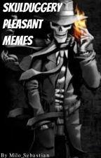 Skulduggery Pleasant memes by Milo_Sebastian