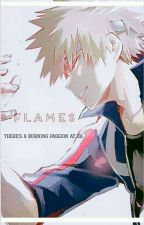 Flames {Reader x Bakugou} by FiccyTara