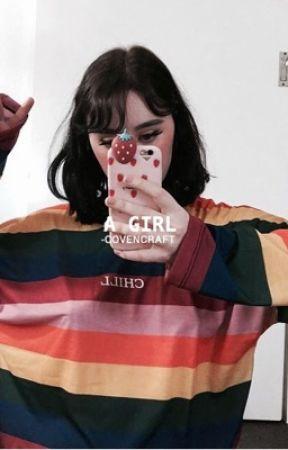 A GIRL ( MORGAN ADAMS ) by -COVENCRAFT