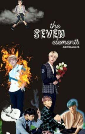 The Seven Elements - Vkook, Yoonmin, Namjin by _AlwaysBlackAlien_