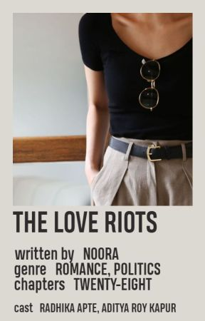The Love Riots by OhNoNoora