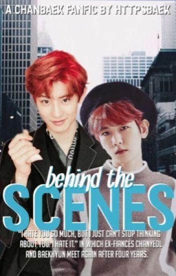 behind the scenes. [chanbaek]
