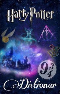 """Dicționar """"Harry Potter"""" cover"""