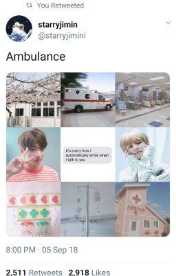Ambulance 》 Taekook/Vkook ✔