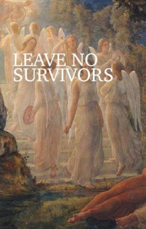 Leave No Survivors  [j.l + p.m] by handjobbing
