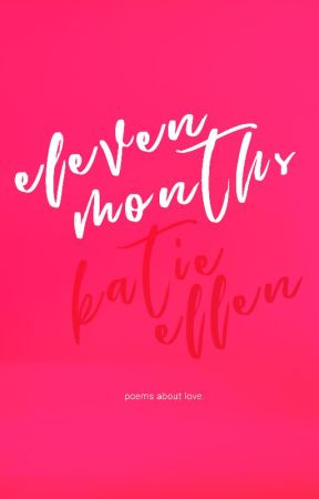 eleven months by kateryderbooks