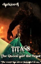 TITANS: The Queen and the Beast (Elsa / Godzilla - Disney Frozen / Monsterverse) by darklordi