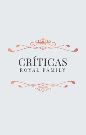 Críticas ☆ Cerrado by TheRoyalFamilyEd