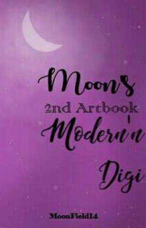 Moon's 2nd Artbook: Modern'n Digi by MoonField14