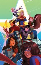 Marvels Rising by GhostSpider-