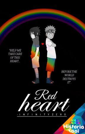 RED HEART ∣ Naruto Shippuden 「SasuNaru」 (AU) by -InfinityZero