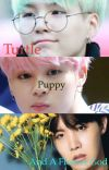 Turtle, Puppy, and a Flower God cover